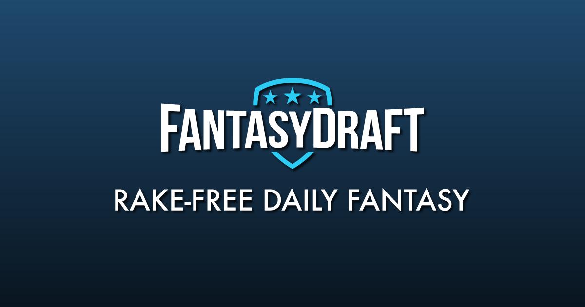 FantasyDraft | Rake-Free Daily Fantasy Sports